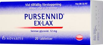 tablett mot förstoppning