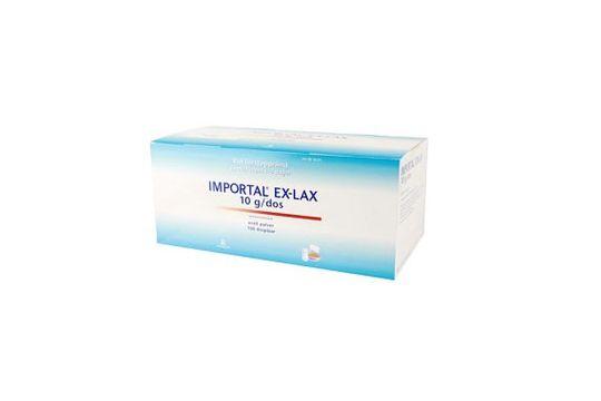 Importal Ex-Lax Oralt pulver i dospåse 10 g 100 dospåsar