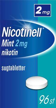 Nicotinell Mint 2 mg Nikotin, komprimerad sugtablett, 96 st