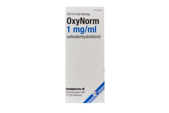 OxyNorm Oral lösning 1 mg/ml Oxikodon 250 milliliter