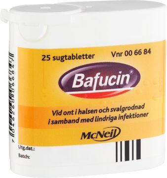 Bafucin Sugtablett, 25 st