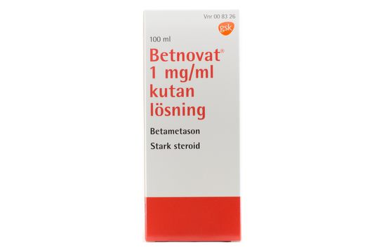 Betnovat Kutan lösning 1 mg/ml Betametason 100 milliliter
