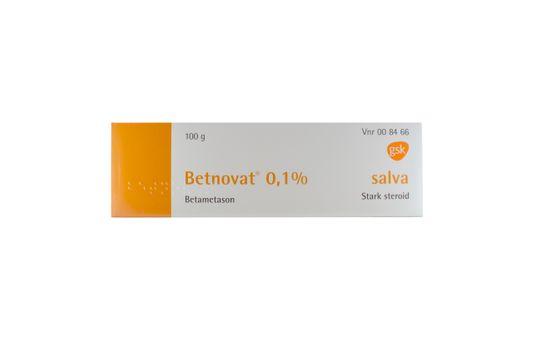 Betnovat Salva 0,1 % Betametason 100 gram
