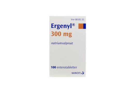 Ergenyl Enterotablett 300 mg 100 styck
