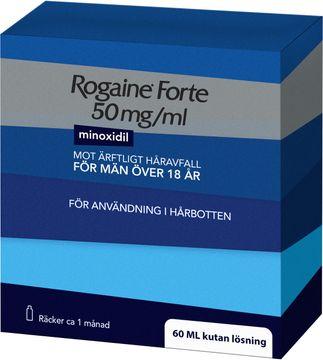 Rogaine forte 50 mg/ml Minoxidil, kutan lösning, 60 ml