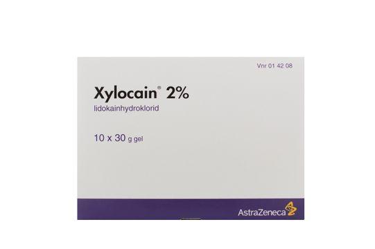 Xylocain Gel 2 % 10 x 30 gram