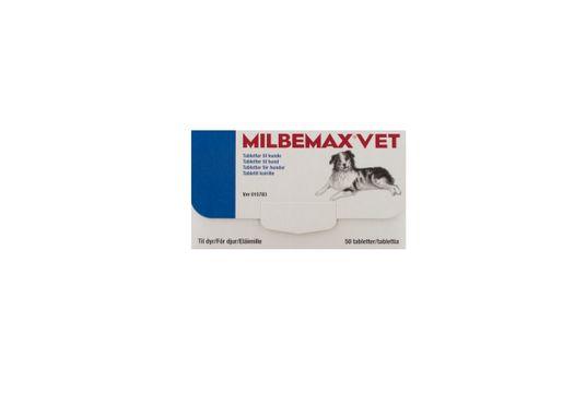 Milbemax vet. för hundar Tablett 50 styck