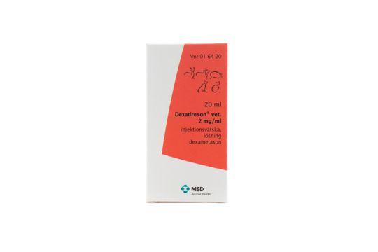 Dexadreson vet. Injektionsvätska, lösning 2 mg/ml 20 milliliter