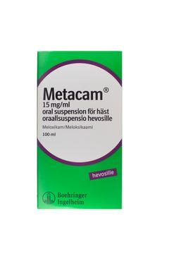 Metacam för häst Oral suspension 15 mg/ml 100 milliliter