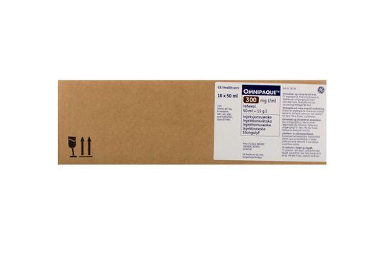 Omnipaque Injektionsvätska, lösning 300 mg I/ml Johexol 10 x 50 milliliter