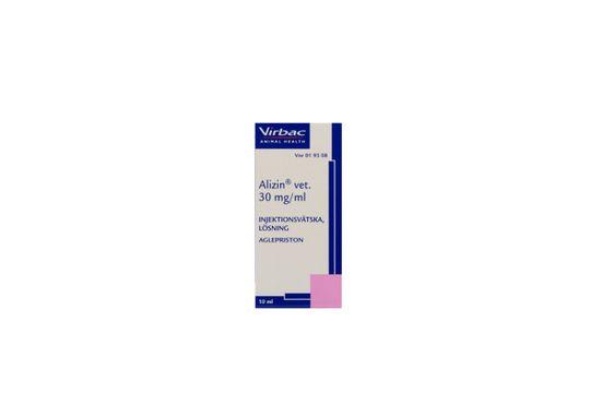 Alizin vet. Injektionsvätska, lösning 30 mg/ml 10 milliliter