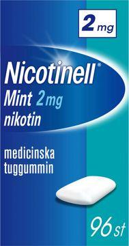 Nicotinell Mint Medicinskt nikotintuggummi, 2 mg, 96 st