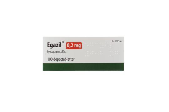 Egazil Depottablett 0,2 mg 100 styck