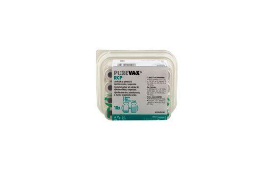 Purevax RCP Frystorkat pulver och vätska till injektionsvätska, suspension 10 x 1 dos(er)