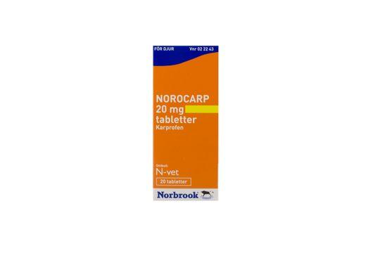 Norocarp Tablett 20 mg 20 styck