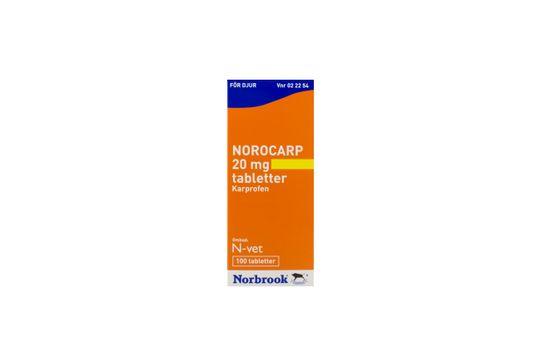 Norocarp Tablett 20 mg 100 styck