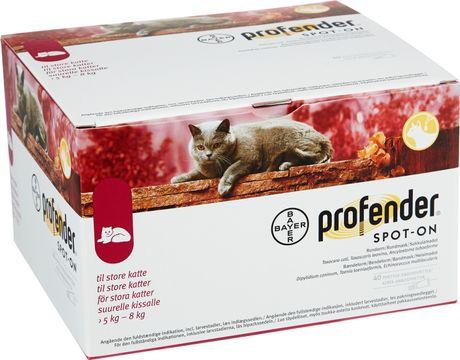 Profender Spot-on, lösning 24 mg/ 96 mg 40 dos(er)
