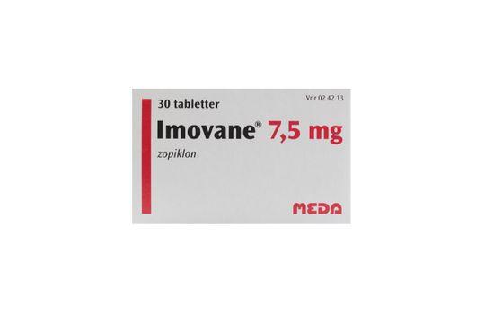 Imovane Tablett 7,5 mg Zopiklon 30 tablett(er)