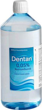 Dentan 0,05 % Natriumfluorid, munsköljvätska, 1000 ml