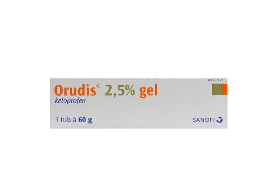 Orudis Gel 2,5 % Ketoprofen 60 gram