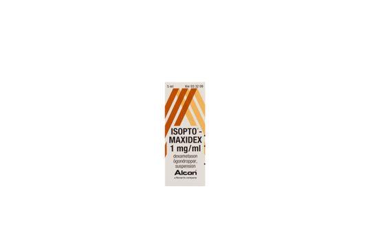 Isopto-Maxidex Ögondroppar, suspension 1 mg/ml Dexametason 5 milliliter