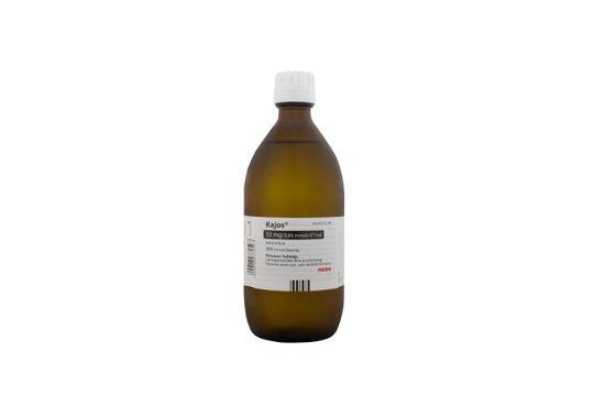 Kajos Oral lösning 33 mg (0,85 mmol) K+/ml 500 milliliter
