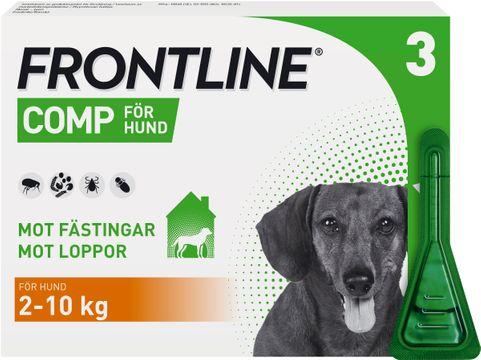 Frontline Comp 67 mg/60,3 mg Fipronil/Metopren, spot-on, lösning, 3x0,67 ml