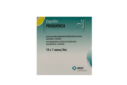 Equilis Prequenza Injektionsvätska, suspension 10 x 1 dos(er)