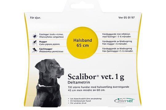 Scalibor vet. 1 g Deltametrin, fästinghalsband, 1 st