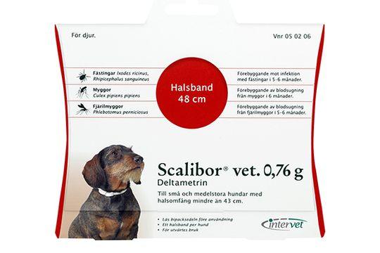 Scalibor vet. 0,76 g Deltametrin, fästinghalsband, 1 st