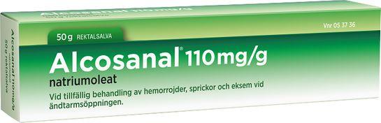 Alcosanal Rektalsalva 110 mg/g 50 gram