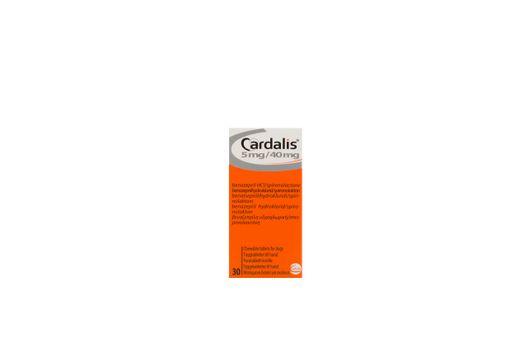 Cardalis Tablett 5 mg/40 mg 30 tablett(er)