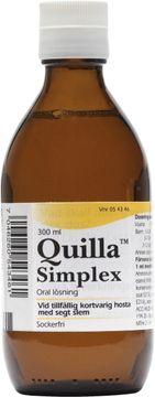 Quilla simplex Mot slemhosta. Oral lösning 300 milliliter
