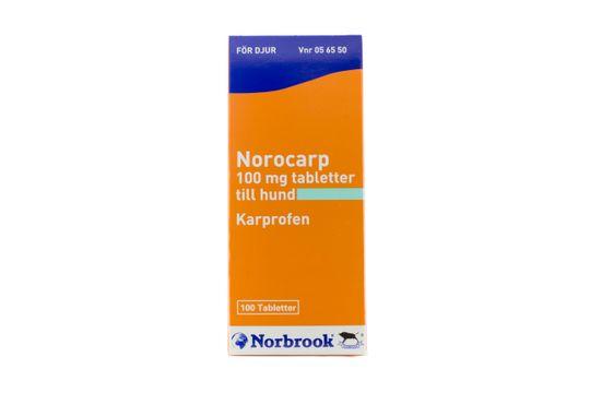 Norocarp Tablett 100 mg 100 tablett(er)