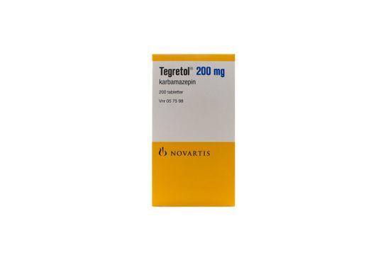 Tegretol Tablett 200 mg Karbamazepin 200 styck