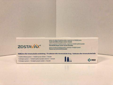 ZOSTAVAX Pulver och vätska till injektionsvätska, suspension i förfylld spruta Vaccin mot bältros 1 x 0,65 milliliter