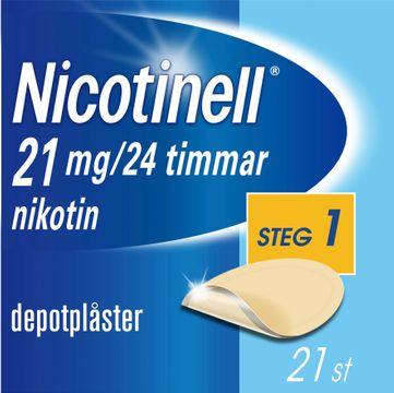 Nicotinell Depotplåster, 21 mg/24 timmar, 21 st