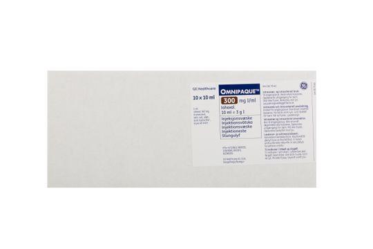 Omnipaque Injektionsvätska, lösning 300 mg I/ml Johexol 10 x 10 milliliter