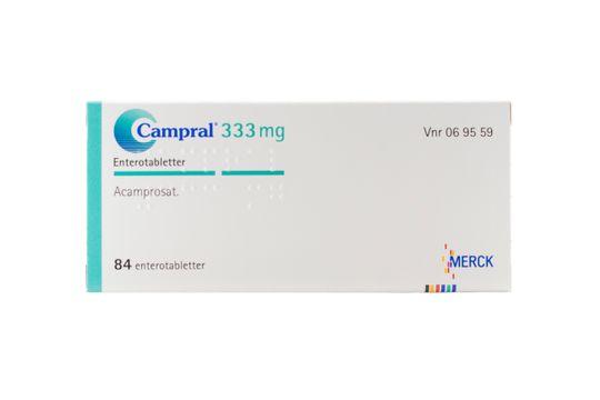 Campral Enterotablett 333 mg Akamprosat 84 styck