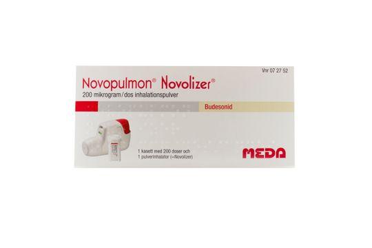 Novopulmon Novolizer Inhalationspulver 200 mikrogram/dos 200 dos(er)