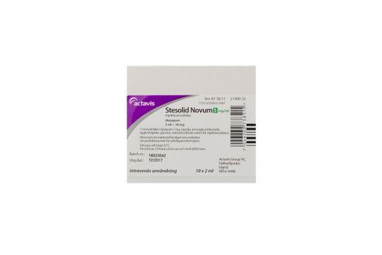 Stesolid novum Injektionsvätska, emulsion 5 mg/ml Diazepam 10 x 2 milliliter