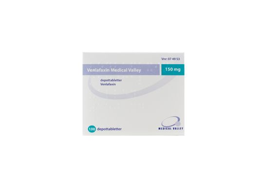 Venlafaxin Medical Valley Depottablett 150 mg Venlafaxin 100 tablett(er)