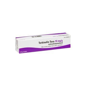 Terbisil Kräm 10 mg/g Terbinafin 30 gram