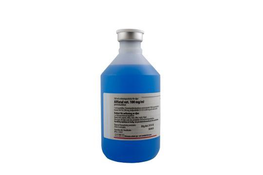 Allfatal vet. Avlivningsvätska för djur 100 mg/ml 500 milliliter