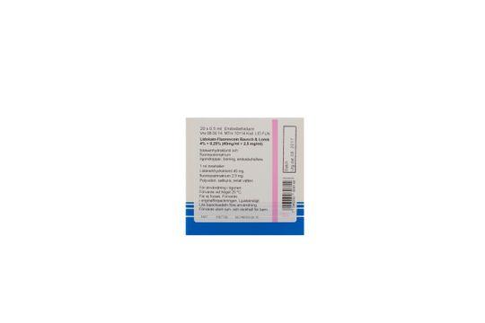 Lidokain-Fluorescein Bausch & Lomb Ögondroppar, lösning i endosbehållare 4 % + 0,25 % 20 x 0,5 milliliter