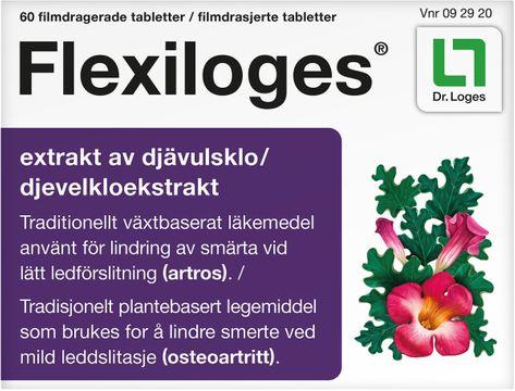 Flexiloges Filmdragerad Tabletter. 60 st