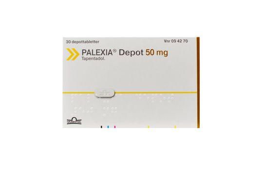 Palexia Depot Depottablett 50 mg Tapentadol 30 styck