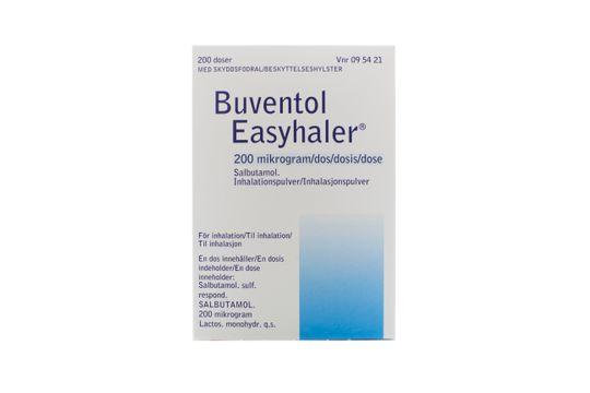 Buventol Easyhaler Inhalationspulver 200 mikrogram/dos 200 dos(er)