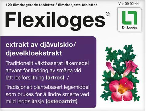 Flexiloges Filmdragerad tablett. 120 st