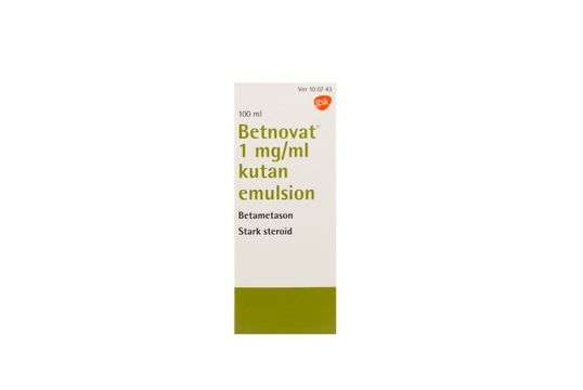 Betnovat Kutan emulsion 1 mg/ml Betametason 100 milliliter